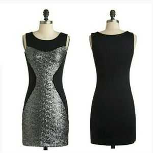 MODCLOTH sequined hourglass bodycon dress